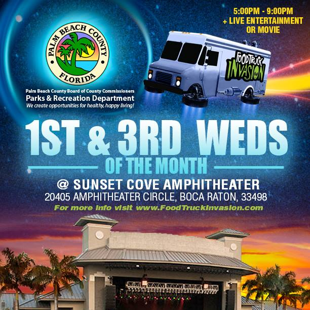 Sunset Cove Amphitheater In Boca Raton 1st 3rd