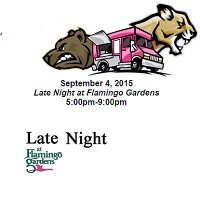 Late Night At Flamingo Gardens In Davie Food Trucks Fort