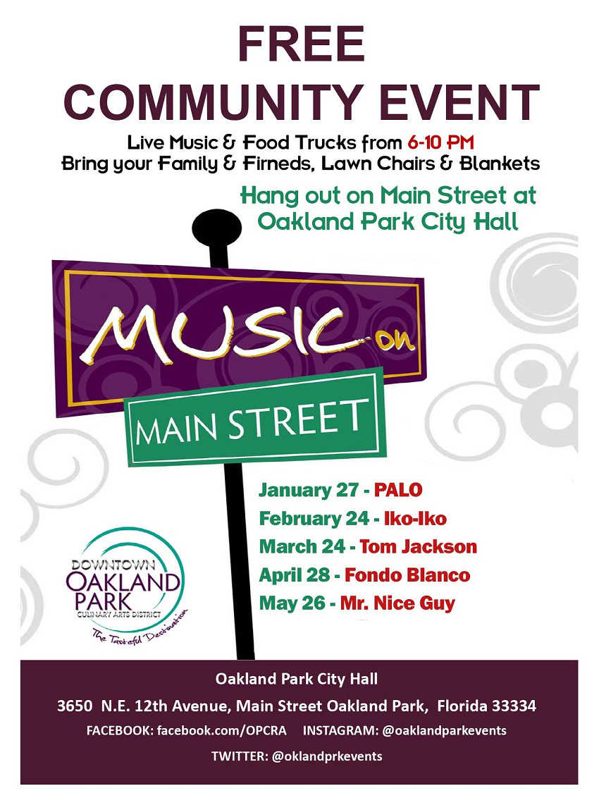 Oakland Park Music on Main Street
