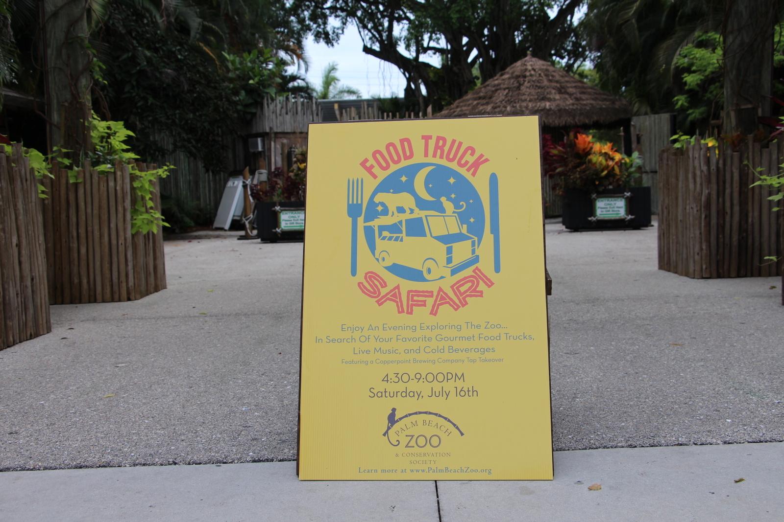 Food Truck Safari Palm Beach Zoo