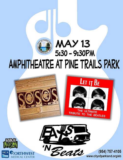 eats 39 n beats at pine trails park in parkland july 8. Black Bedroom Furniture Sets. Home Design Ideas