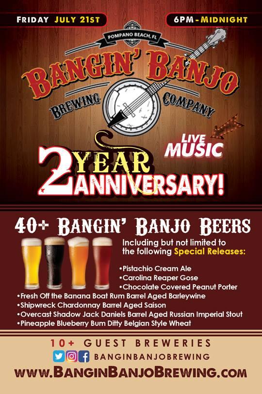 Bangin Banjo 2nd Anniversary